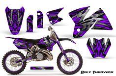 Purple dirt bike plastic