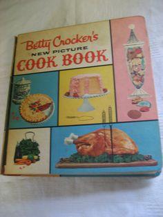 Vintage Betty Crocker New Picture Cook Book Vintage 1960s