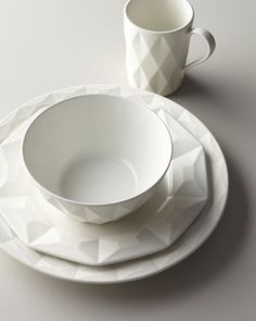 "kate spade new york // Four-Piece ""Castle Peak"" Dinnerware Place Setting"