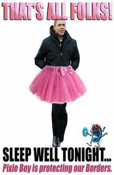 Obama is Pixie Boy!!