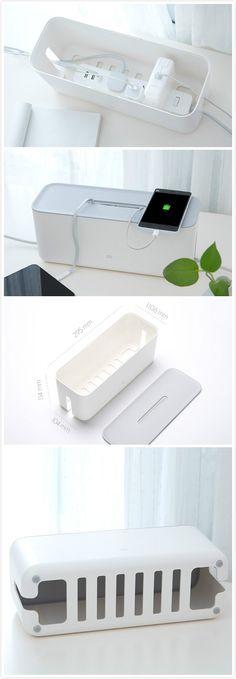 Xiaomi Mi Storage Box , it can keep your desk more clean.#gadgets#storage# / TechNews24h.com