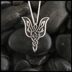 Celtic Angel Pendant