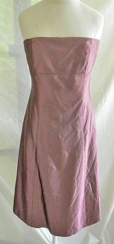 df70d5e63346 Vera Wang Bridesmaid Evening Dress Strapless Boned Bustier Gored NOS  Deadstock 8 | eBay Vintage Outfits