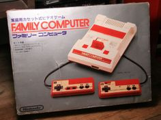 Family Computer (FAMICOM) unboxing
