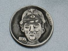 Joe Gallagher - Herman The German Herman The German, 1936 Olympics, Hobo Nickel, Buffalo, Coins, Art, Art Background, Rooms, Kunst