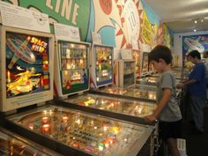 It's time for a family pinball challenge! Pacific Pinball Museum - Alameda, CA - Kid friendly activity reviews - Trekaroo