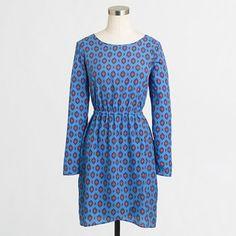 Factory tulip-hem dress