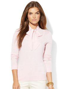 Women's | Sweaters | Self Tie Sweater | Hudson's Bay