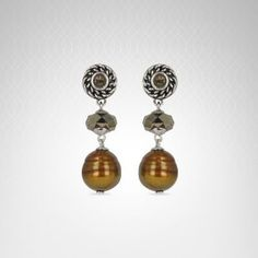#Honora Pearls #Earrings By Bailey Banks and Biddle