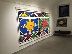 Ex Africa Semper Aliquid Novi, Esther Mahlangu African Design, African Art, Color Blocking Outfits, African Mud Cloth, Tribal Art, Mexico, Prints, Painting, Animals