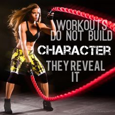 Reveal Your Character! #fitness #motivation #inspiration