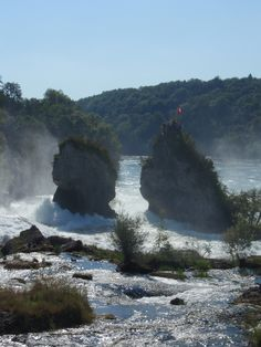 going to go to .... Rhine Falls near Schaffhausen #switzerland