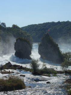 Rhine Falls near Schaffhausen #switzerland