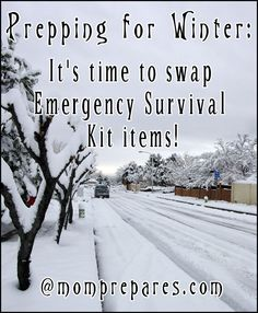Prepping for Winter: Swapping Summer Kit Items for Cold Weather
