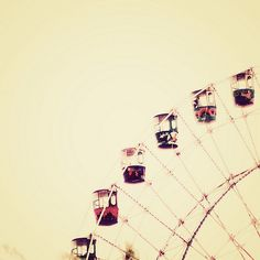 Make love in a ferris wheel
