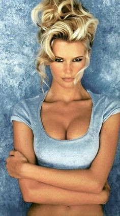 Claudia Schiffer...the best!!!  Don't forget Cindy...