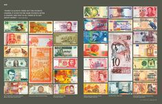 Currency around the World. From Afar Magazine