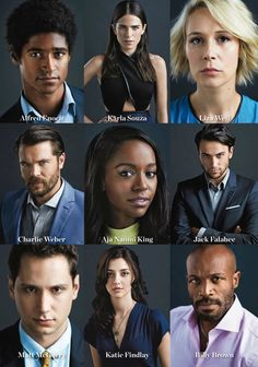 How To Get Away With Murder Cast (ABC): magazine scans