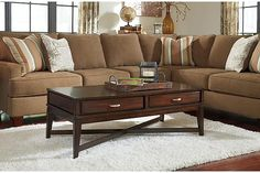 Dark Brown Dinelli Coffee Table View 1