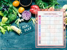 Meal Planning Made Easy – Createful Printables