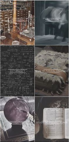 hogwarts subjects pt. 2 // electives