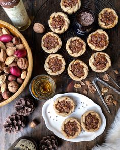 This classic Canadian treat has become even more iconic with the addition of maple syrup and bacon. And brown butter amps the flavours perfectly. Bacon And Butter, Brown Butter, Pie R Squared, Coffee Shop Counter, Butter Tarts, King Arthur Flour, Maple Bacon, Melted Butter, Raisin
