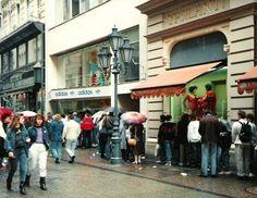 Adidas bolt Váci utca 1989