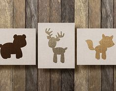 Woodland Nursery Art - Printables - Prints for Nursery - Woodland Animal Nursery - Baby Forest Animals - Rustic Nursery Decor by TheLionAndTheLark on Etsy Woodland Creatures Nursery, Rustic Nursery Decor, Woodland Animal Nursery, Woodland Animals, Forest Animals, Woodland Forest, Woodsy Nursery, Woodland Theme, Baby Boy Rooms