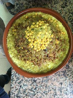 Cuscus de pollo con tefalla