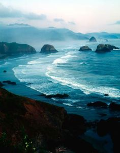 Cannon Beach. This was our first  day trip when we moved up here. It's so beautiful.