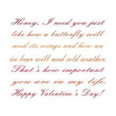 Honey, I need you valentines day by digitalpainter's Artist Shop