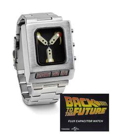 Amazon.co.jp|Back to the Future バック・トゥ・ザ・フューチャー Flux Capacitor Wristwatch フラックス キャパシター 腕時計 ウオッチ ウォッチ 次元転移装置 watch [並行輸入品]|腕時計ストア オンライン通販