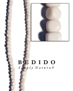 Square bone beads Brown Lip, Black Lips, Black Wood, How To Make Beads, White Roses, Natural, Horns, Pearl Necklace, Shells