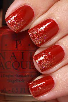 grape fizz nails: OPI Bastille My Heart