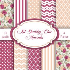 Shabby Chic, Decoupage Vintage, Pattern Paper, Monster High, Safari, Paper Crafts, Diy Projects, Printables, Scrapbook