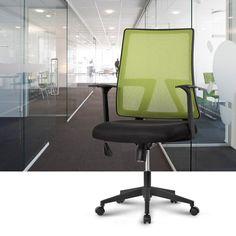 Amazon.com : LANGRIA Ergonomic Mid-Back Mesh Home Office Task Chair, Synchro Tilt Mechanism, 360 Degree Swivel(285 lbs, Green) : Office Products