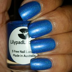 Lilypad Lacquer: Violet Moon (Swatch Credit= @Nicole Perez) **