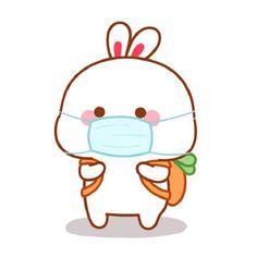Cute Bunny Gif, Cute Bunny Cartoon, Cute Kawaii Animals, Bunny Art, Cute Simple Wallpapers, Cute Cartoon Wallpapers, Cute Love Pictures, Cute Love Gif, Kawaii Drawings