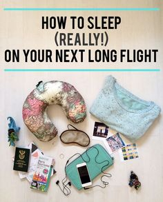 How to sleep (really!) on your next long flight