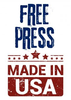 Free press made in USA | DEMOCRACY DELIVERED | Send real postcards online | Democracy Delivered