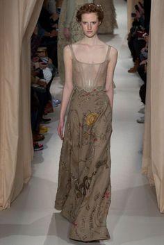 Valentino - Haute Couture Fashion Week Paris 2015 - Magdalena Jasek