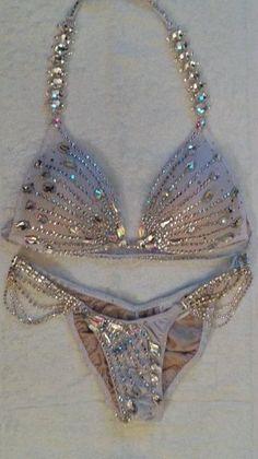 73064014bf3f4 Ladies – Magic Bikinis Bling Bra, Rhinestone Bra, Wbff Bikini, Sexy Bikini,