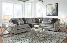 Bicknell Charcoal RAF Sectional by Ashley - Get the guaranteed best price and free delivery directly to your home from Coleman Furniture.