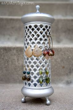 candle holder turned #organization
