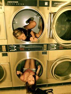 late night laundromat