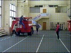 Fire Fighter Training in Russia