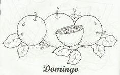 Art'sanália: Semaninha de frutas!