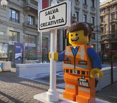 Guerrilla marketing in Milan