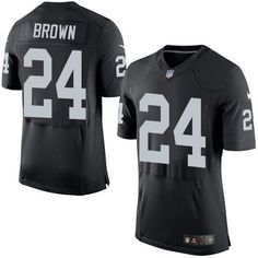 $22 Men's Nike Oakland Raiders #24 Willie Brown Black Team Color Stitched NFL New Elite Jersey