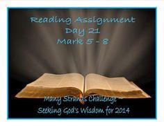 Seeking God's Wisdom - Day 21